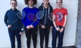 Kerry Badminton tournament Thursday 11th January 2018